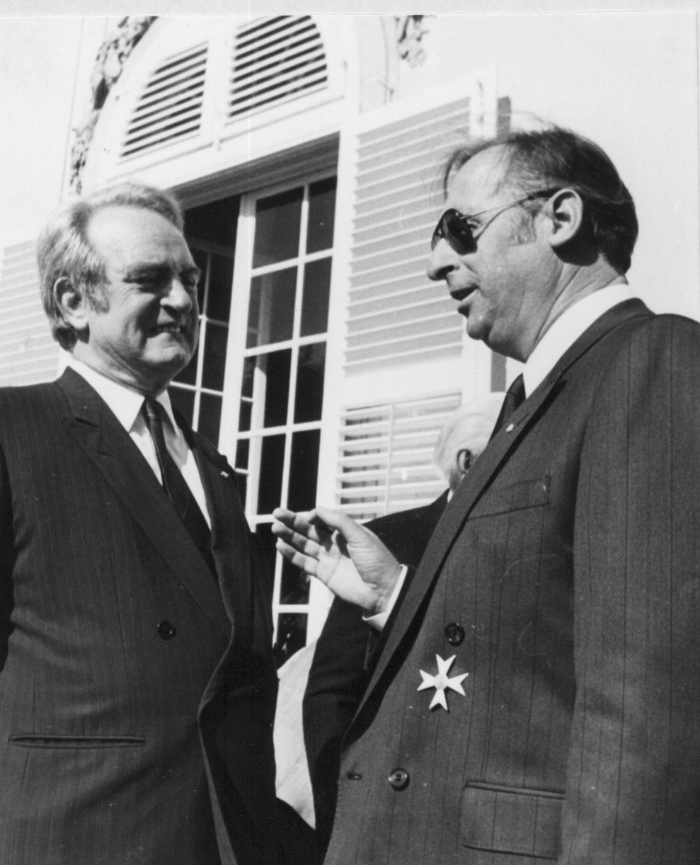 Johannes Rau und der NRW Orden