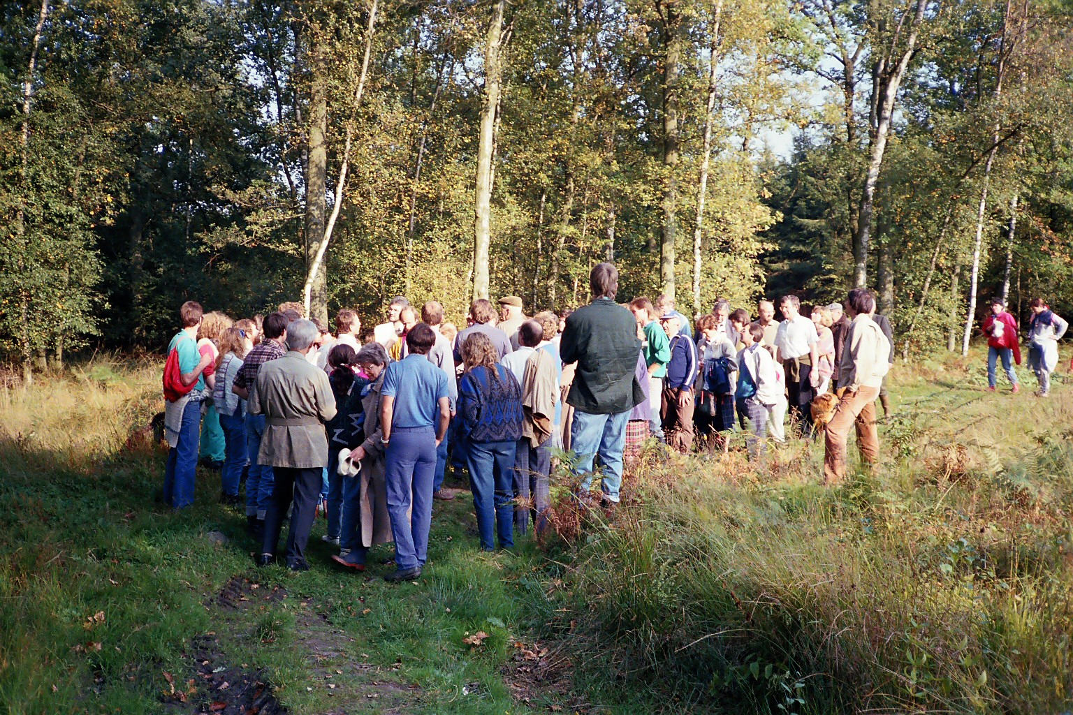 Begehung wegen Center Parcs 1988