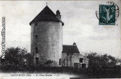Le moulin de la commune de Saint Witz