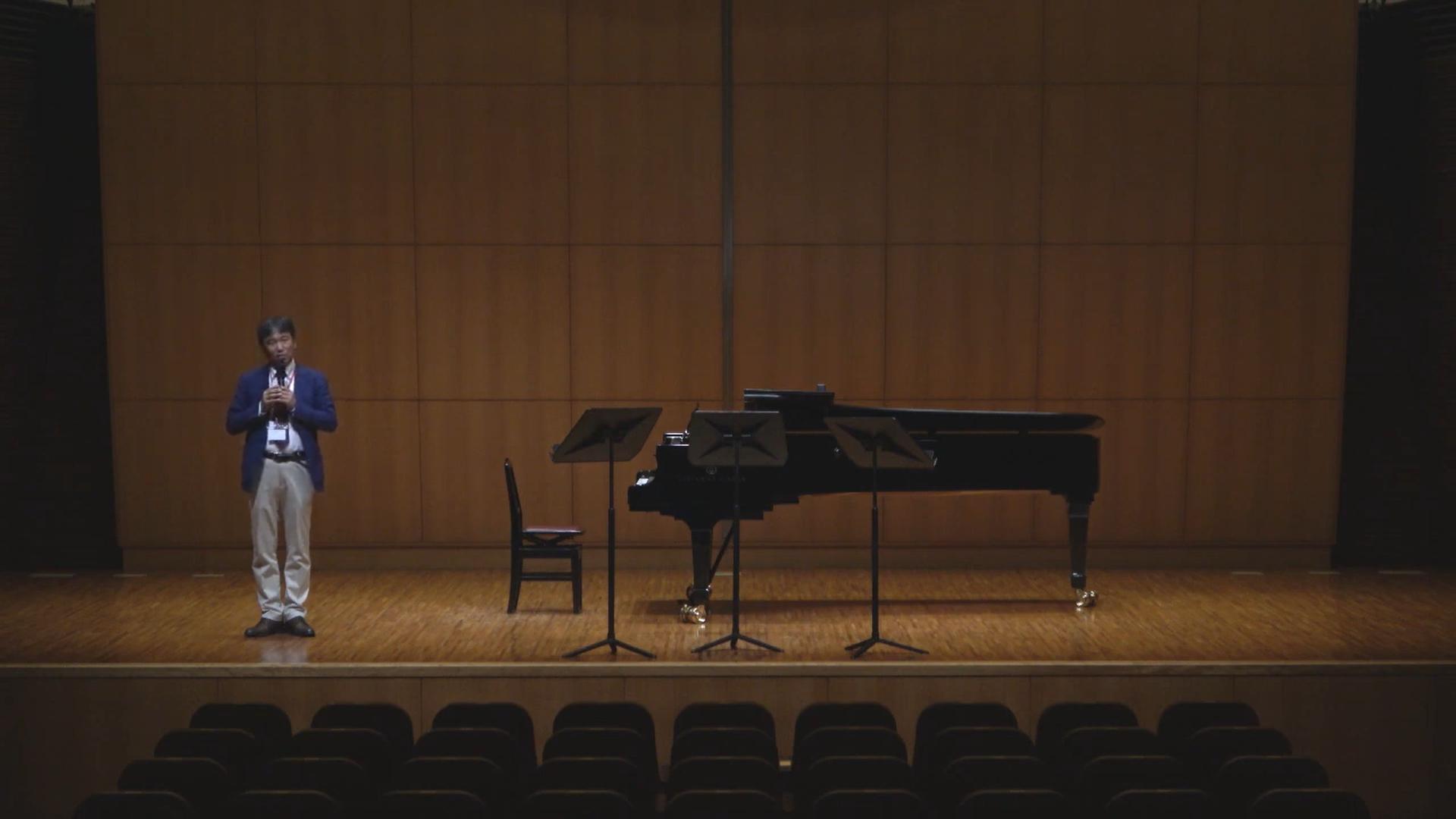 パウエルフルートショーケースとして、ドルチェ楽器の長尾さんにお越し頂きました。
