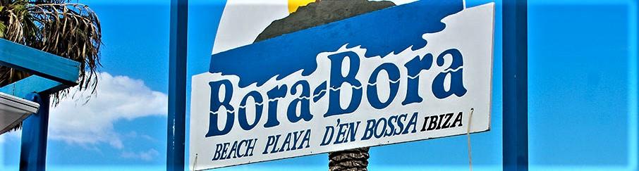 Bora Bora Beach Club, Parymeile Ibiza