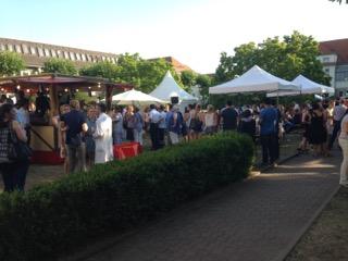 Sommerfest Zelte und Pavillons weiß