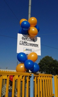 Ballondekoration MVG Mainz