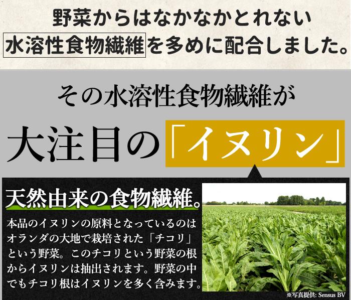 ■そんな食物繊維が簡単に! 食物繊維たっぷり 1袋(約500g)に約453gの食物繊維入り! キャベツ約25個分 ※キャベツは1玉1kgで計算。  日本食品標準成分表2015年版(七訂)参照。 たった5gでキャベツおよそ1/4個分の食物繊維!