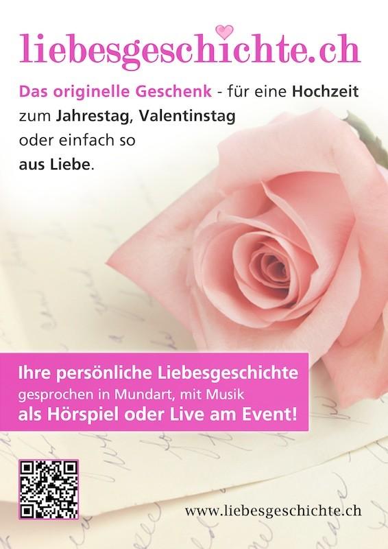 Liebesgeschichte.ch Flyer Urs Sahli