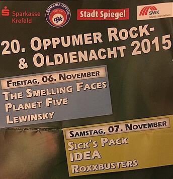 20. OPPUMER ROCK- & OLDIENACHT