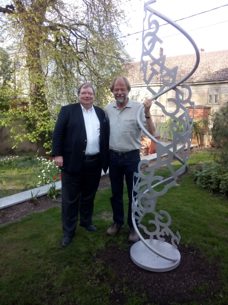mit Andres Metspalu in Tartu