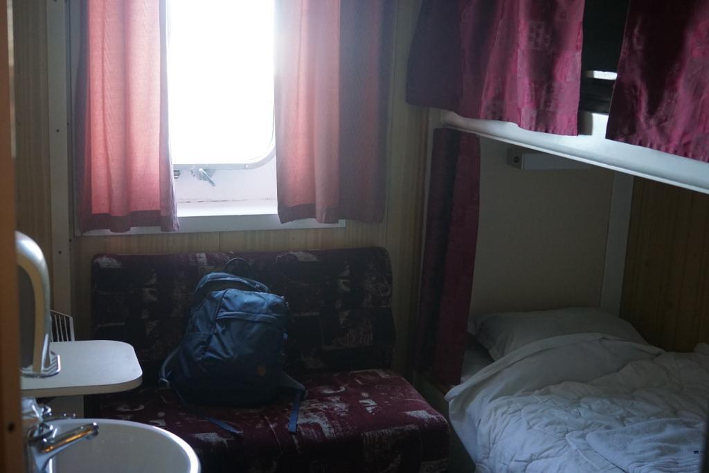 Kabine auf der Überfahrt von Batumi nach Odessa