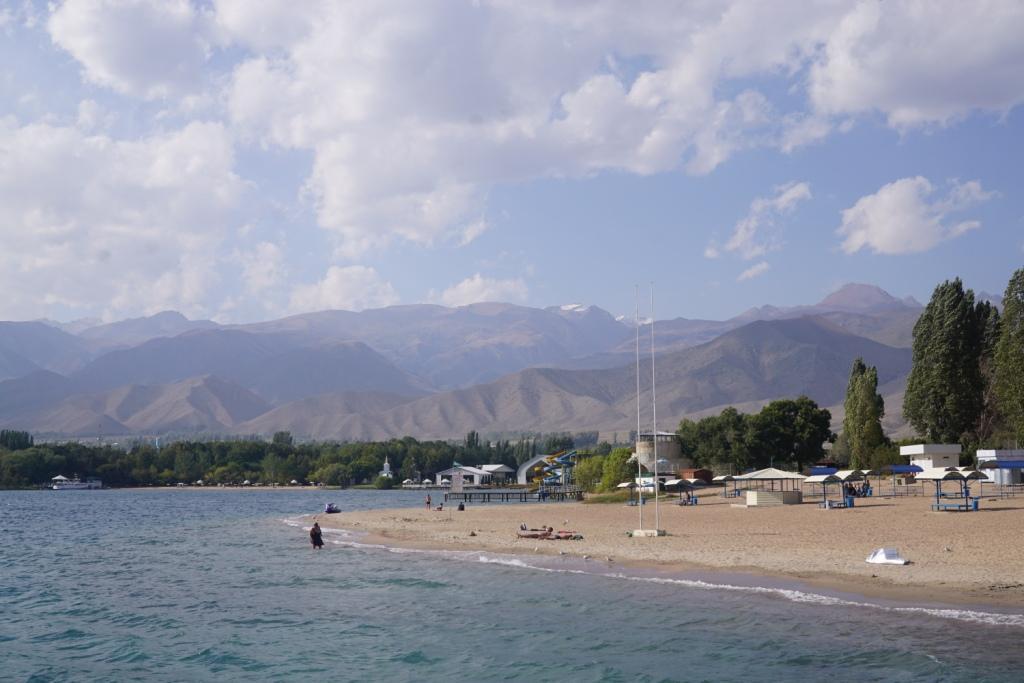 am Issyk Kul, Kirgistan