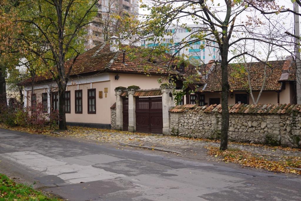 früheres Wohnhaus von Pushkin in Kischinau, Moldawien
