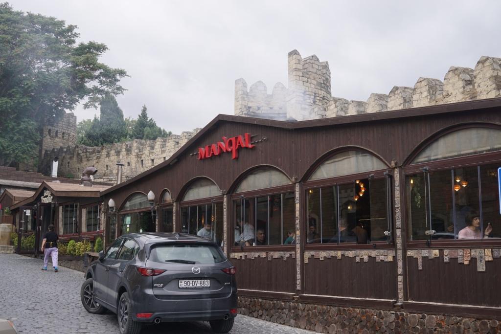 Restaurant in der Altstadt, Baku, Aserbaidschan