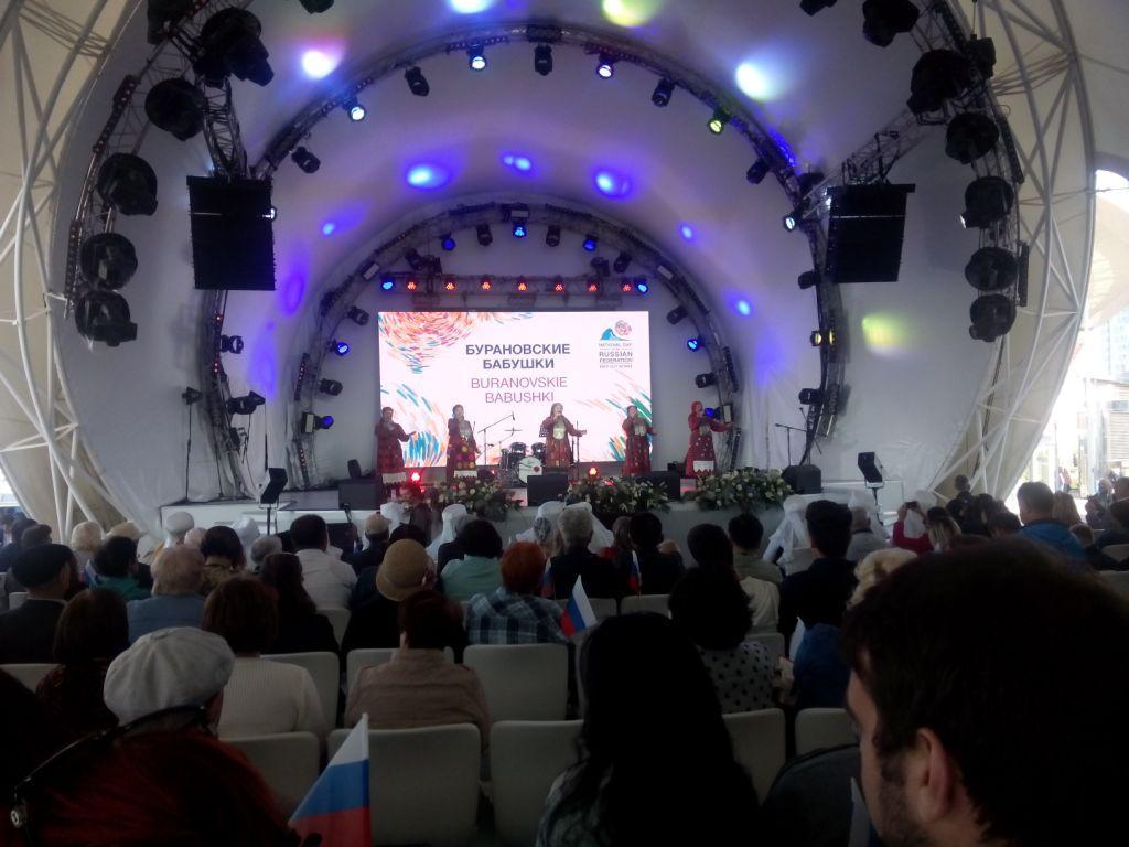 die Babuschkas aus Buranowo in Astana, Kasachstan