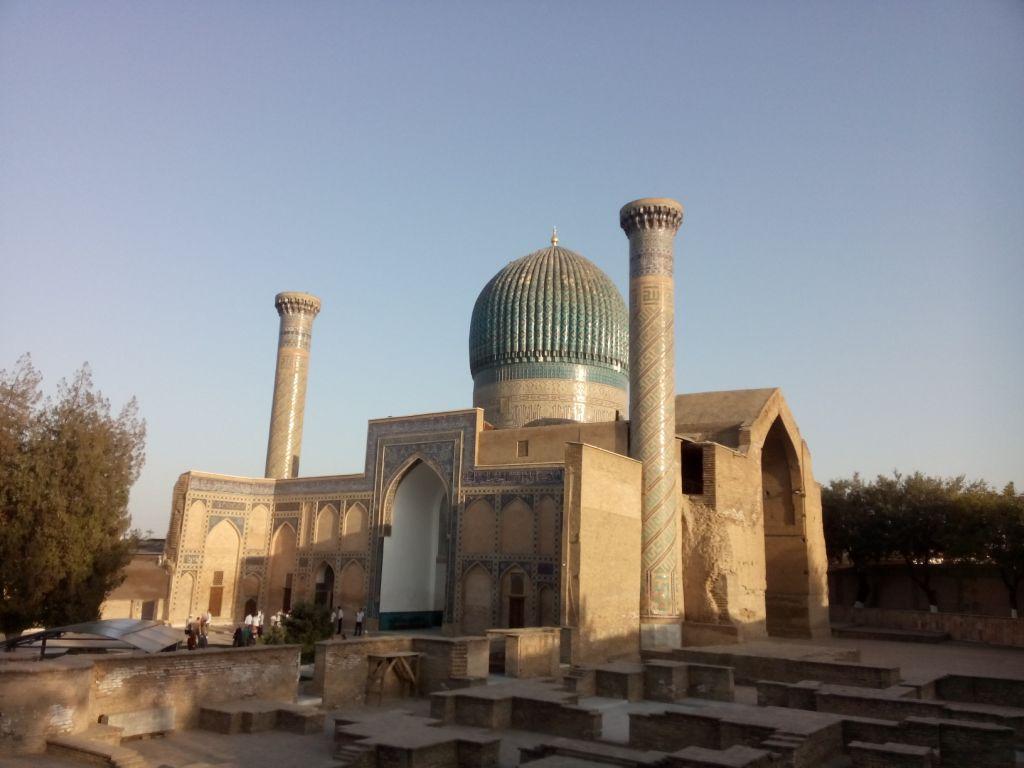 Amir Timur Mausoleum in Samarkand, Usbekistan