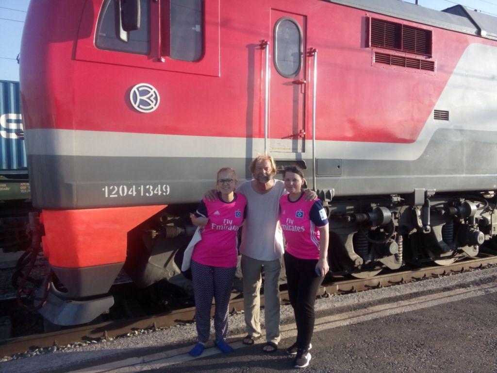 HSV, zwei Deern unterwegs durch Sibirien
