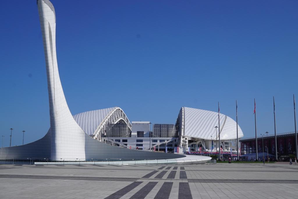 Olympiastadion in Sotschi