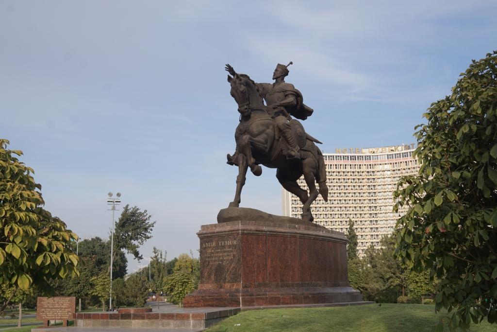 Amir Timur Denkmal in Taschkent, Usbekistan