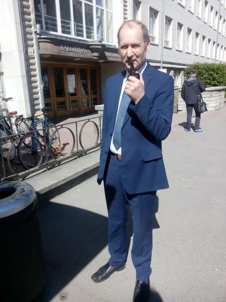 Romi Mankin, der Einstein Estlands