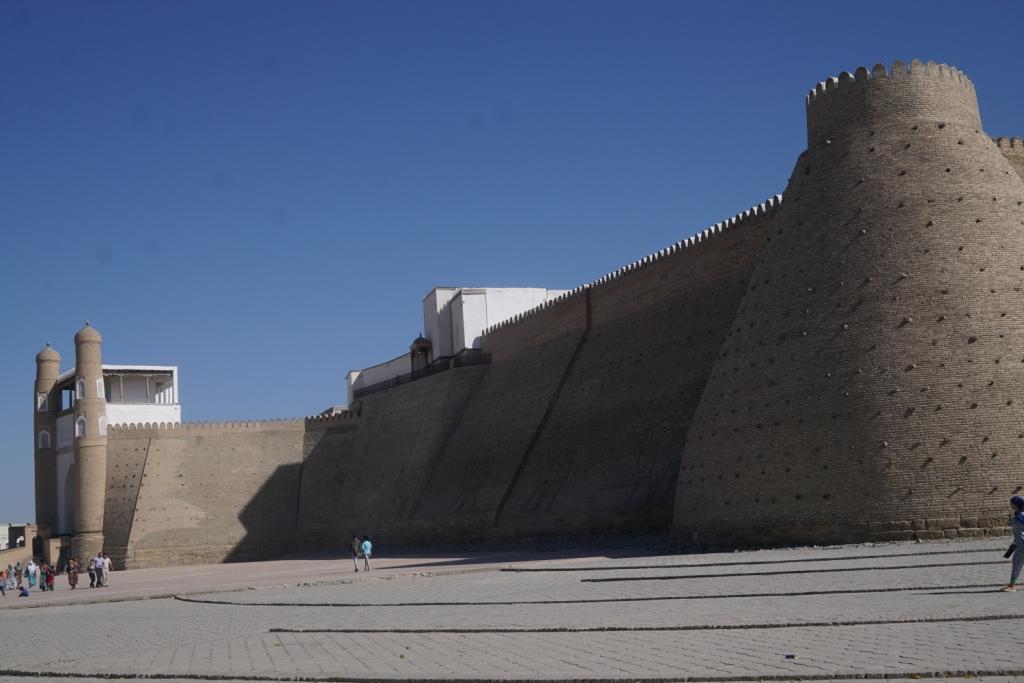 die Zitadelle Ark, Buchara, Usbekistan