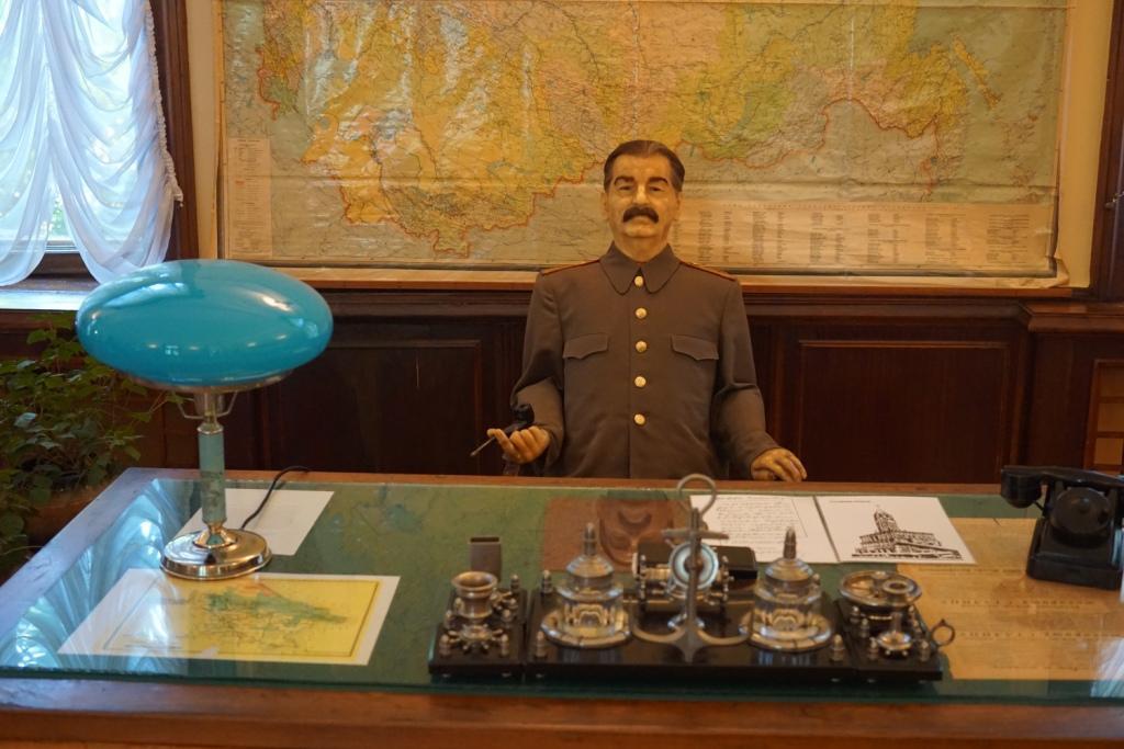 Stalin in seiner Datsche
