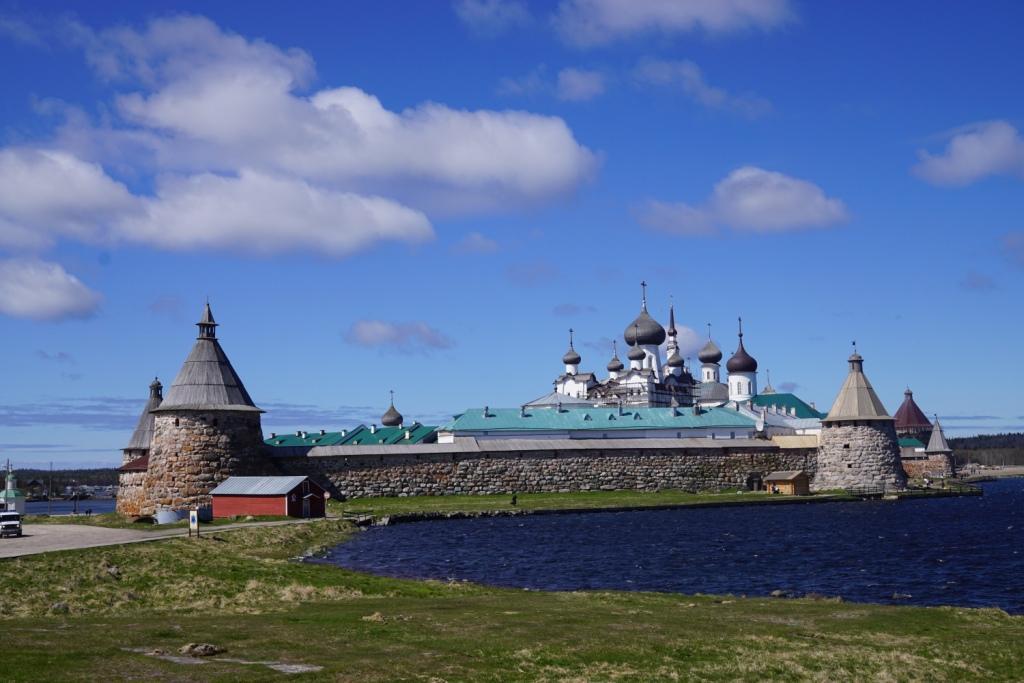 Kloster auf der großen Solowedzki-Insel