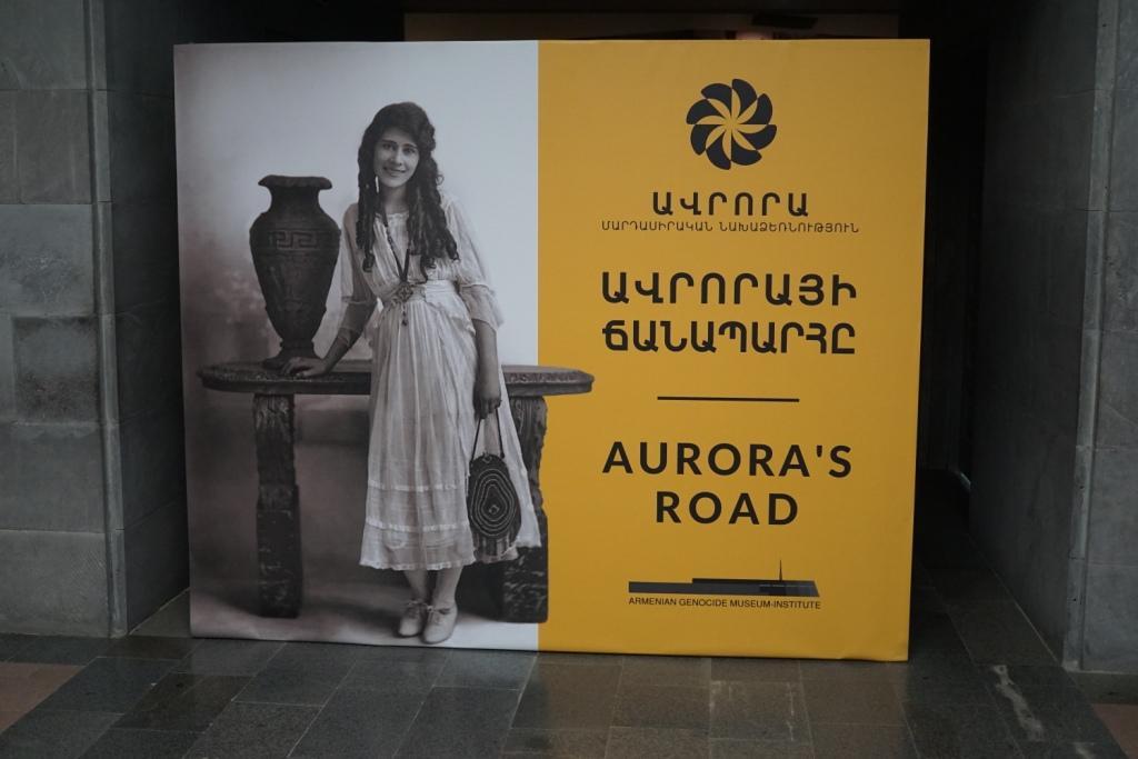 Aurora, im Museum an der Gedenkstätte, Jerewan, Armenien