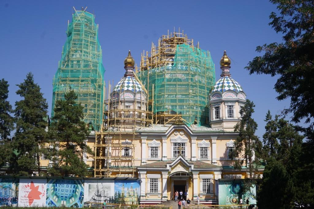 Zenkov-Kathedrale, Almaty, Kasachstan