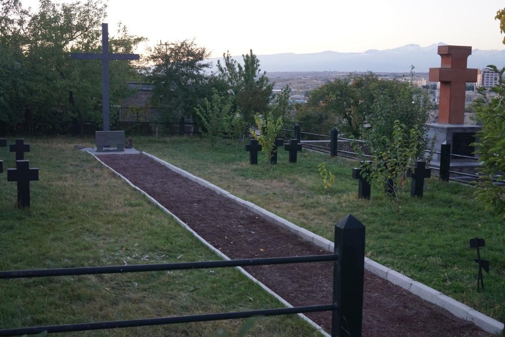 Kriegsgefangenen-Gedenkstätte bei Jerewan, Armenien