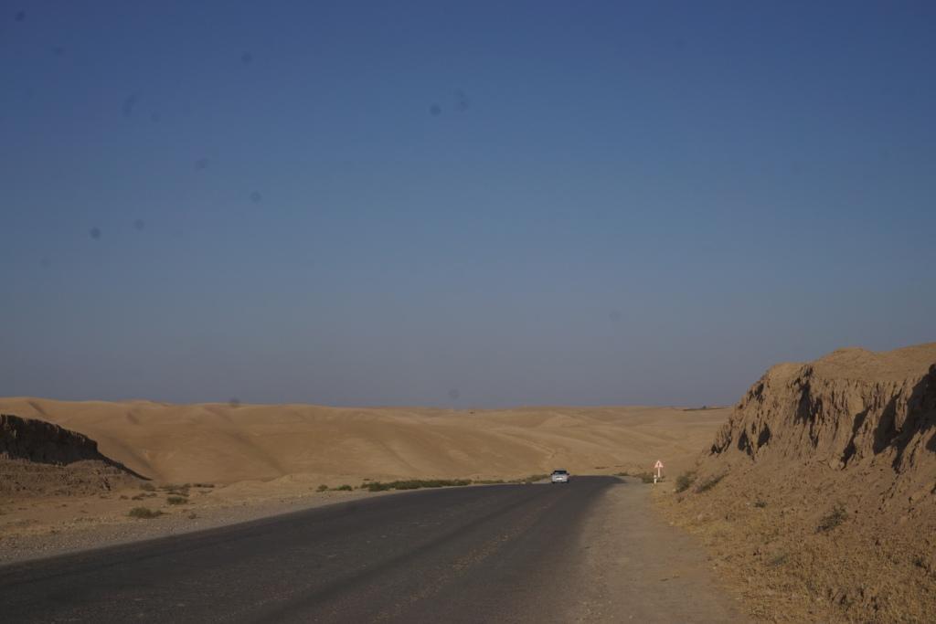 unterwegs im Süden Usbekistans nach Tadschikistan