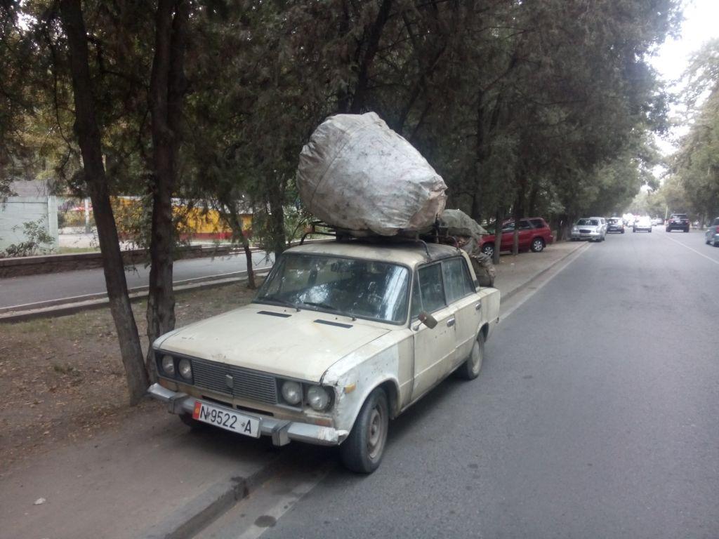 das ist nicht das Auto von Leo aus Bischkek, Kirgistan