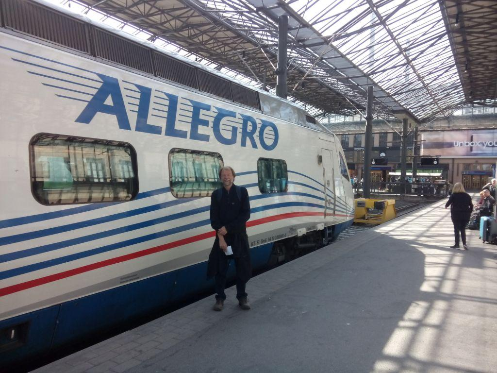 Zug nach Sankt Petersburg