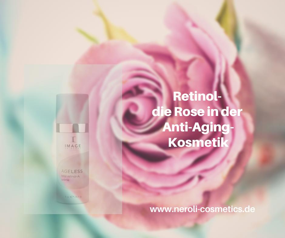 Retinol – die Rose in der Anti-Aging-Kosmetik