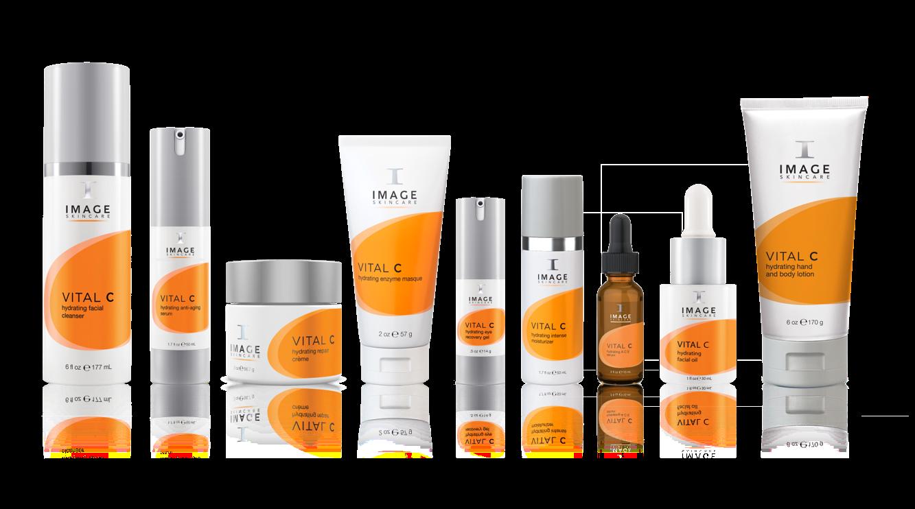 Image Skincare, Serie Vital C – jedes Produkt ein Frischekick für trockene, fahle und sensible Haut - Reinigung