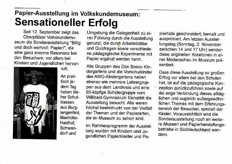 Stadtinformationsblatt Burglengenfeld, Nr. 5, 10/2003