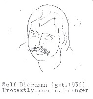 Wolf Biermann (geb. 1936), Protestyriker