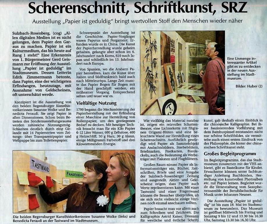 Sulzbach-Rosenberger-Zeitung, 03.12.2007