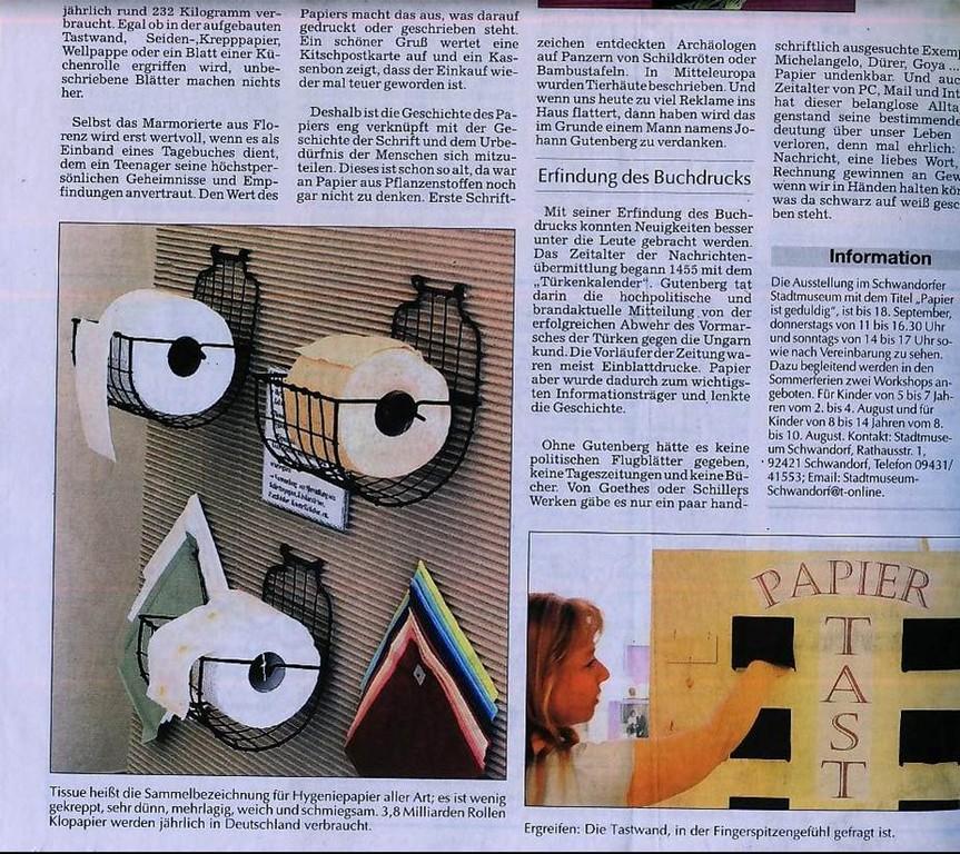 Mittelbayerische Zeitung, 06/2005