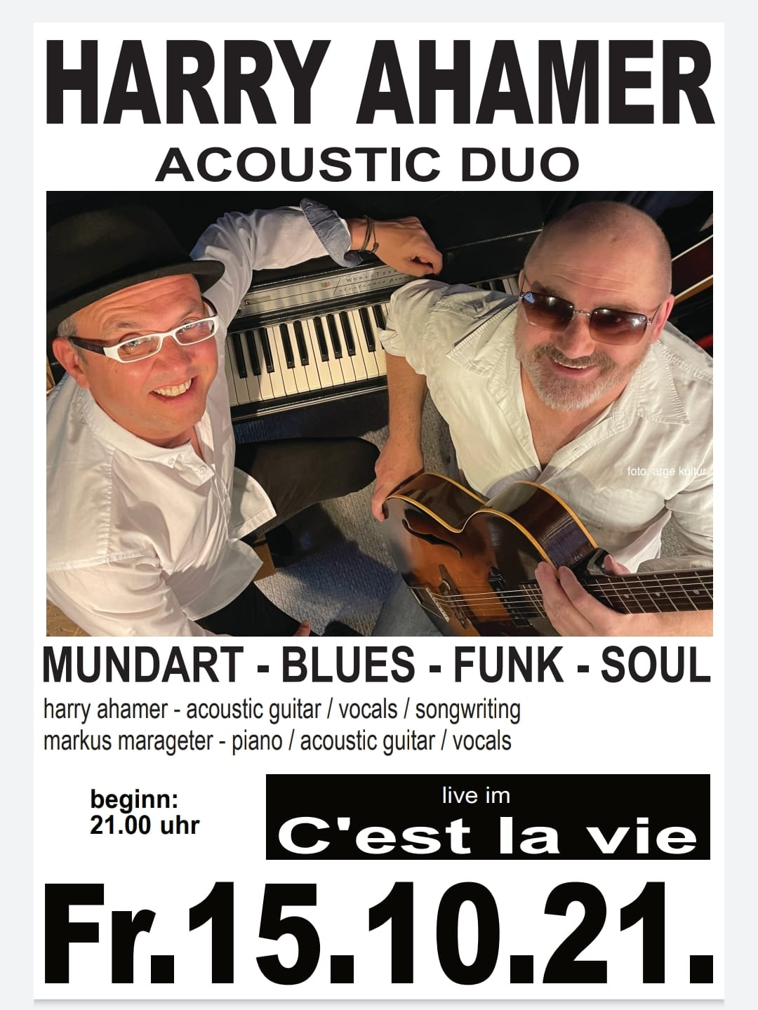 Harry Ahamer -Acoustic Duo