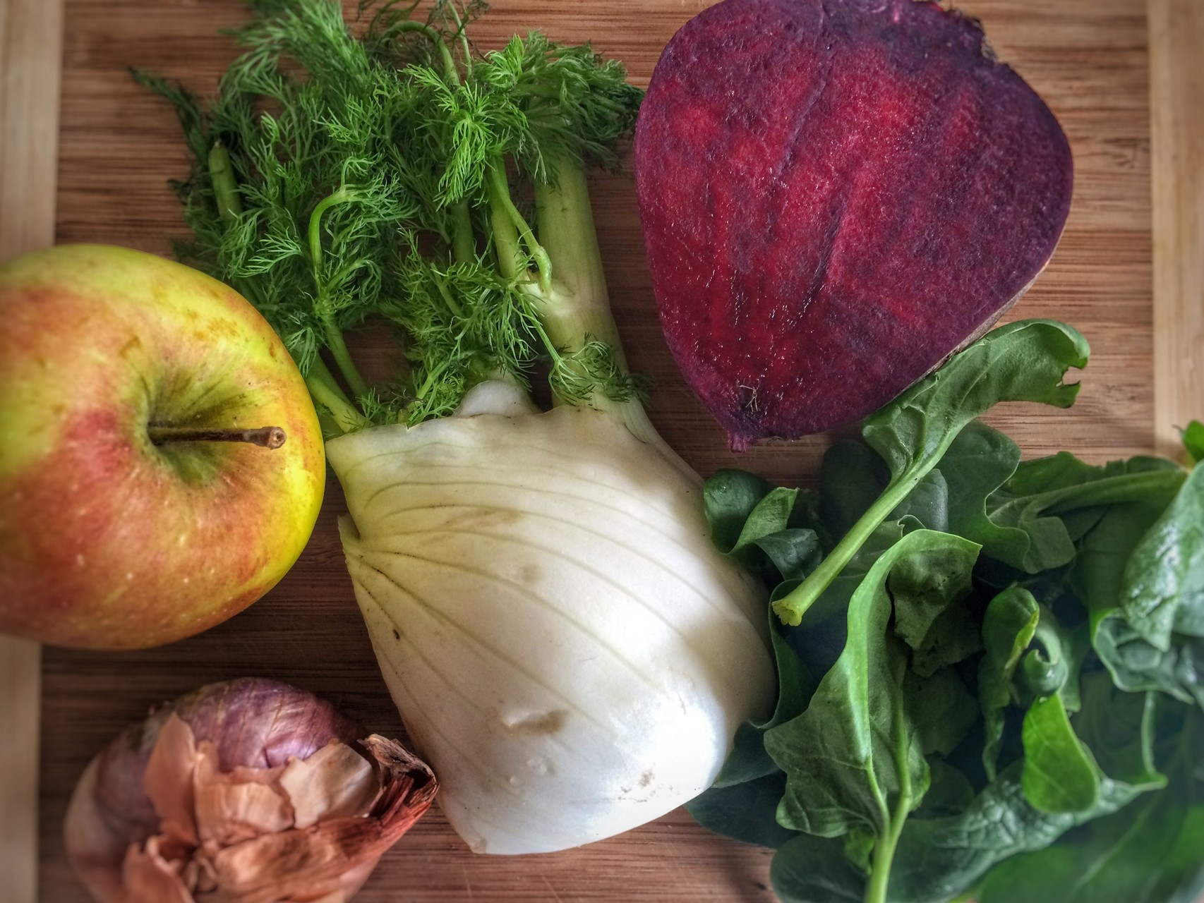 Beetroot, fennel, apple, spinach - mycleanlife