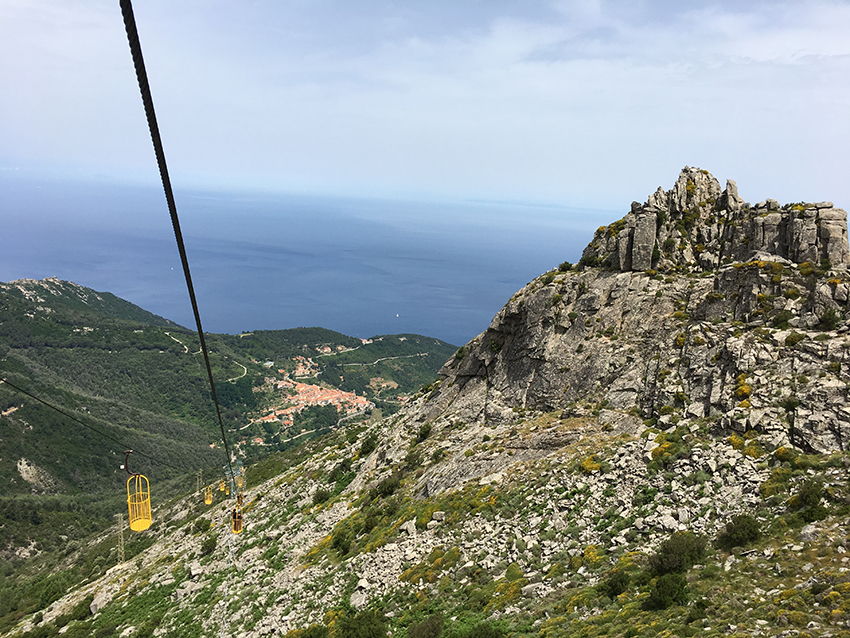 take the cave lift to Elba's highest mountain called Monte Capanne – it's worth it!
