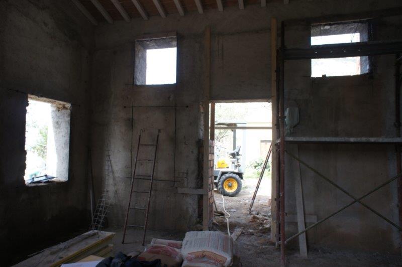 Kapitel 8 (Monat/Jahr):Durchbrüche der vielen Fenster und Türen