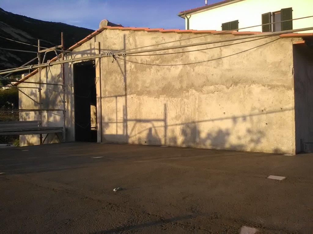 12ème chapitre : construction de la terrasse sur le toit