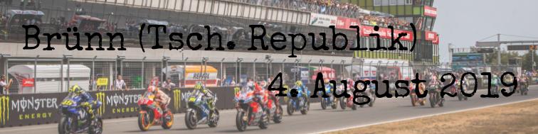 MotoGP Kalender 2019 Tschechische Republik Brno
