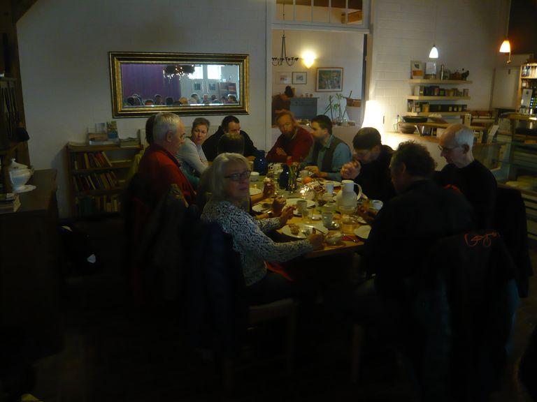 Das Frühstück im Café 21 war super, ...