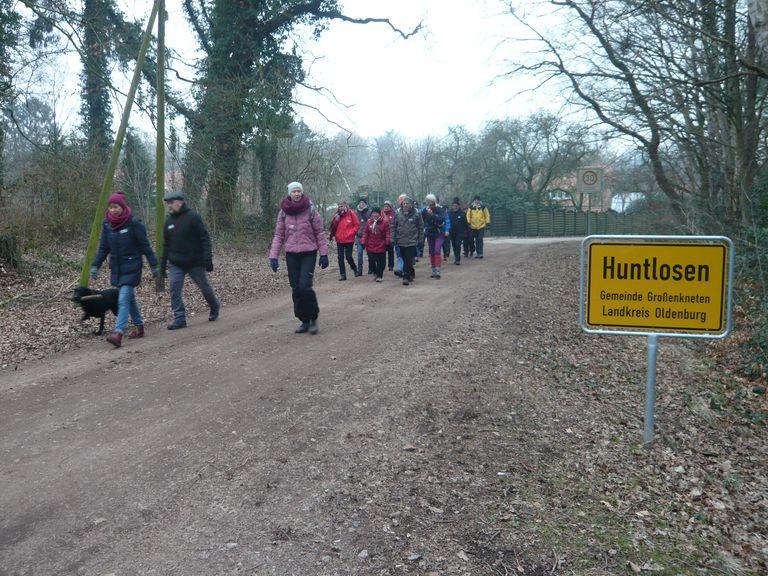 Von Huntlosen geht es in den Hegeler Wald.