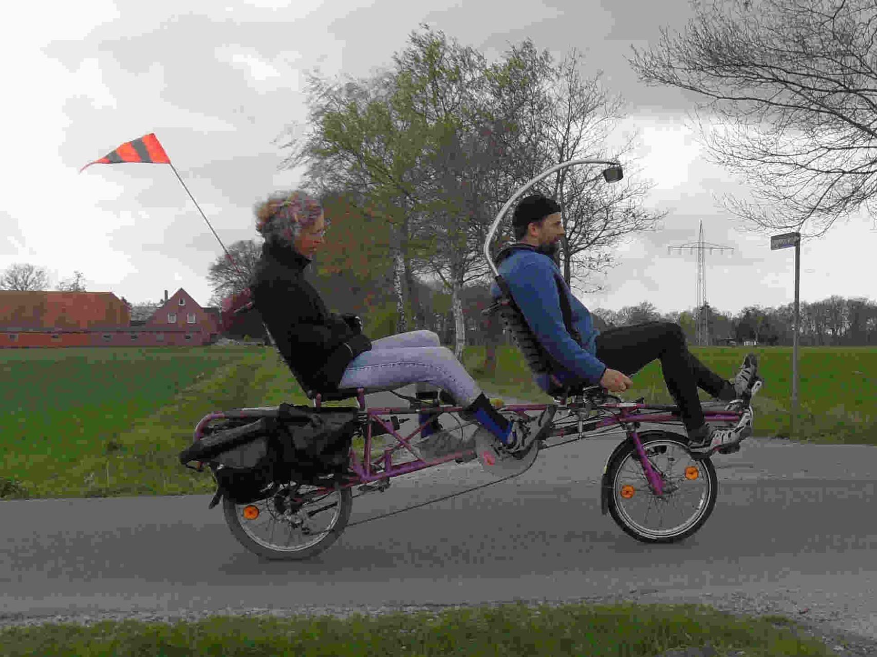 Dieter und Hanna vor dem Straucheln ....