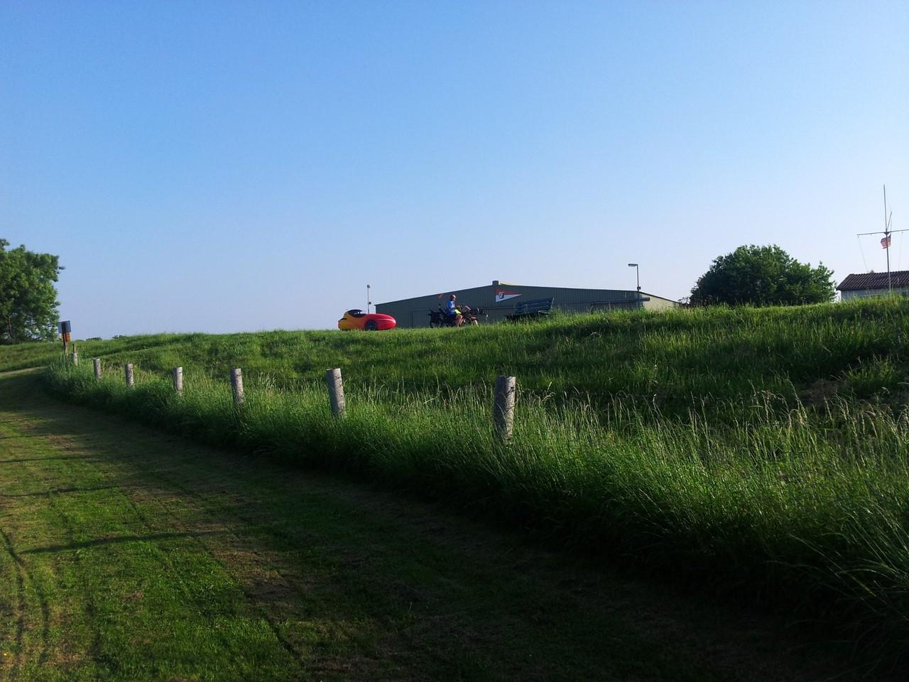 Weserdeich in Hoya