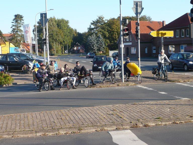 Sie folgten den Ruf der Königin, liegende Reiter aus Oldenburg.