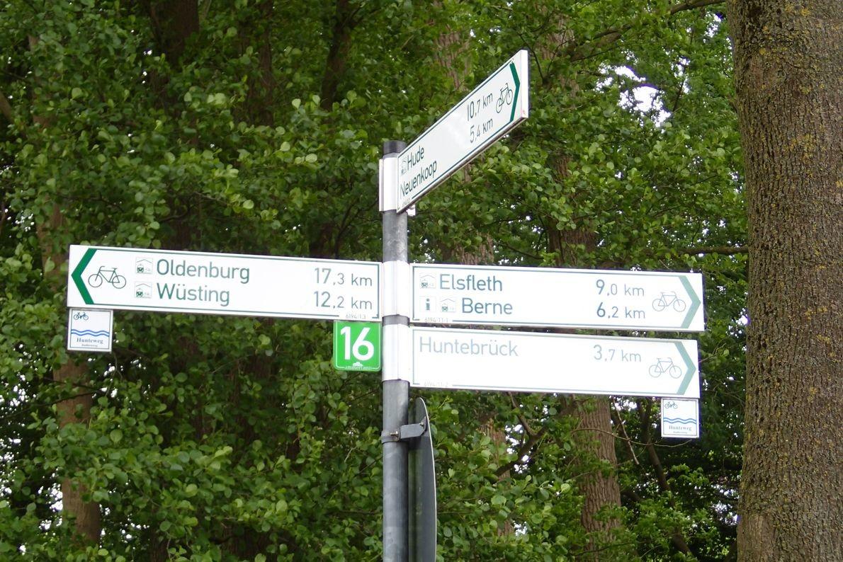 Am 31. Mai ging es von Oldenburg nach Hude, zum Testen von Gesellschafts- und Liegerädern .