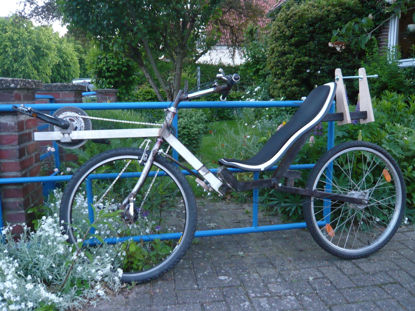 Das Flevofahrschulrad bei den Flevonauten in Oldenburg.