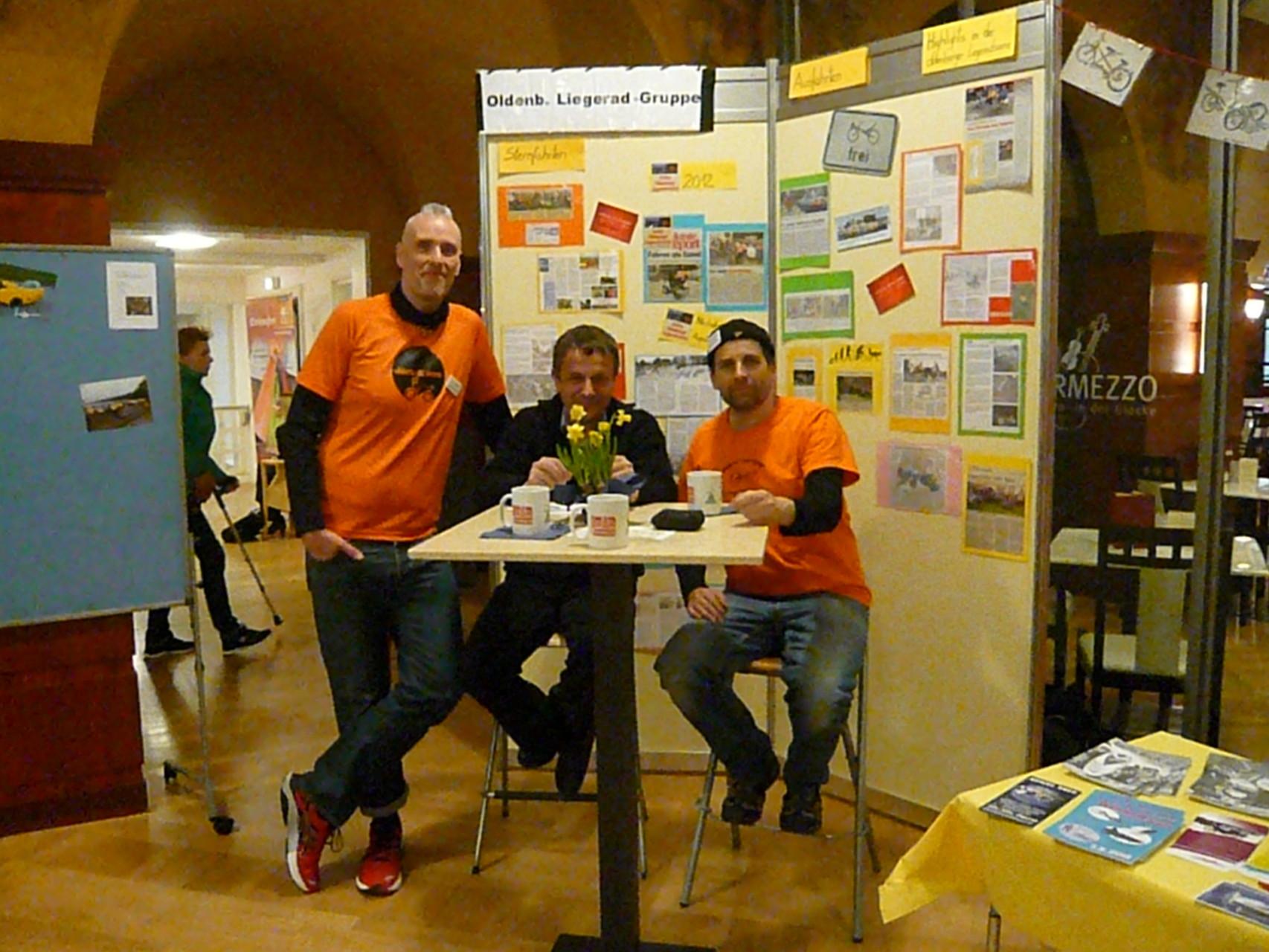 Das mänliche Expertenteam von links nach rechts: Sven aus Hannover, Wolfgang aus Bremen und Dieter aus Oldenburg. Habt ihr eine Fage?